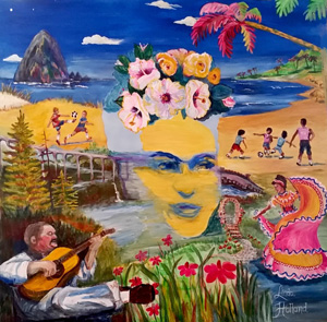 Frida Project - Artist Linda Holland